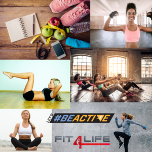 Let´s #BEACTIVE Fit4Life